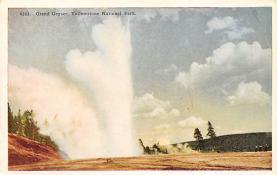 sub065439 - Yellowstone National Park Post Card
