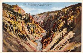 sub065445 - Yellowstone National Park Post Card