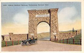 sub065453 - Yellowstone National Park Post Card