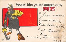 sub065561 - Occupation Post Card