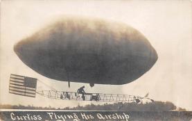 sub065797 - Airplane Post Card