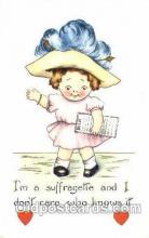 suf002043 - Suffragette Postcard Postcards