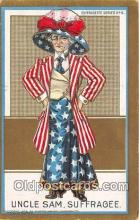 suf100002 - Uncle Sam  Postcard Post Card