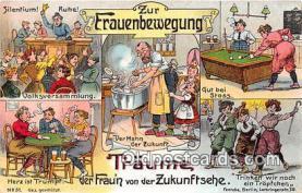 suf100040 - Zur Frauenbewegung  Postcard Post Card