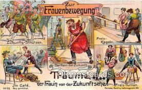 suf100043 - Zur Frauenbewegung  Postcard Post Card