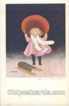 sun001020 - Sunbonnets Postcard Postcards