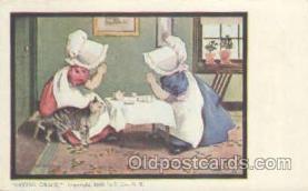 sun001027 - Sunbonnets Postcard Postcards