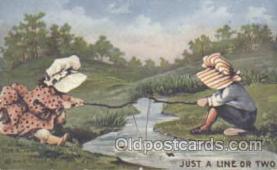 sun001028 - Sunbonnets Postcard Postcards