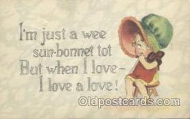sun001040 - Sunbonnets Postcard Postcards