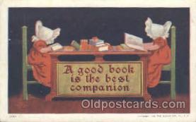 sun001046 - Sunbonnets Postcard Postcards
