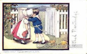 sun001051 - Dorothy-Dixon U. Co., N.Y., USA Sun Bonnet, Bonnets Postcard Post Card Old Vintage Antique