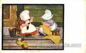 sun001066 - B.L. Carbott J.I. Austen Co., Chicago, USA Sun Bonnet, Bonnets Postcard Post Card Old Vintage Antique