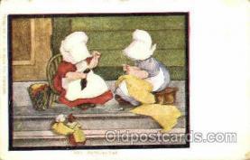 sun001067 - B.L. Carbott J.I. Austen Co., Chicago, USA Sun Bonnet, Bonnets Postcard Post Card Old Vintage Antique