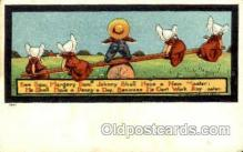 sun001076 - Nursery Rhymes Series No 60 Sun Bonnet, Bonnets Postcard Post Card Old Vintage Antique