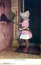 sun001091 - No. 1909 E.F.Branning's Cartino Card N.Y.City (Germany) Sun Bonnet, Bonnets Postcard Post Card Old Vintage Antique