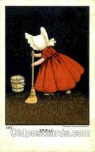 sun001099 - No. 1492  The Ullman MFG. Co., N.Y., USA Sun Bonnet, Bonnets Postcard Post Card Old Vintage Antique