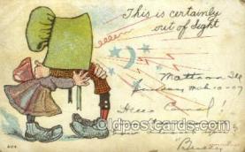 sun001106 - Sunbonnet, Sun Bonnet Old Vintage Antique Postcard Postcards