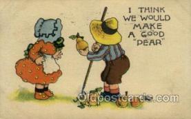 sun001114 - Sunbonnet, Sun Bonnet Old Vintage Antique Postcard Postcards
