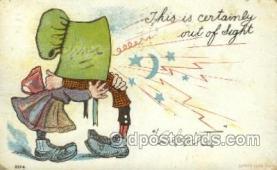 sun001118 - Sunbonnet, Sun Bonnet Old Vintage Antique Postcard Postcards