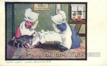 sun001121 - Sunbonnet, Sun Bonnet Old Vintage Antique Postcard Postcards