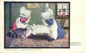 sun001121 - Sunbonnet, Sun Bonnet Old Vintage Antique Postcard Postcards