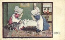 sun001135 - Sunbonnet, Sun Bonnet Old Vintage Antique Postcard Postcards