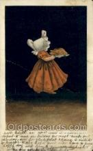 sun001158 - Sunbonnet, Sun Bonnet Old Vintage Antique Postcard Postcards