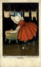 sun001160 - Sunbonnet, Sun Bonnet Old Vintage Antique Postcard Postcards