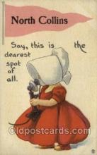 sun001170 - Sunbonnet, Sun Bonnet Old Vintage Antique Postcard Postcards
