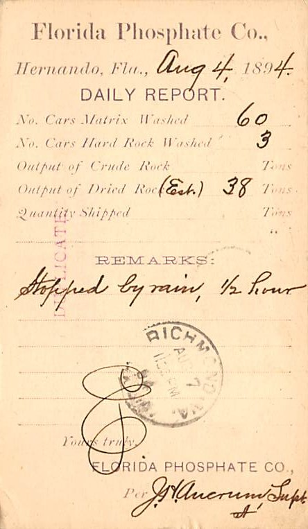 sub054323 - Postal Cards, Late 1800's Post Card