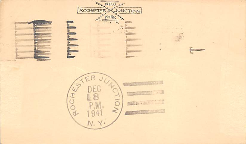 sub055933 - D.P.O. , Discontinued Post Office Post Card