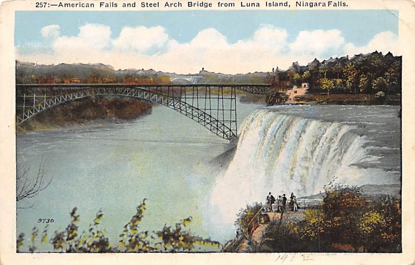 sub056167 - Niagara Falls Post Card