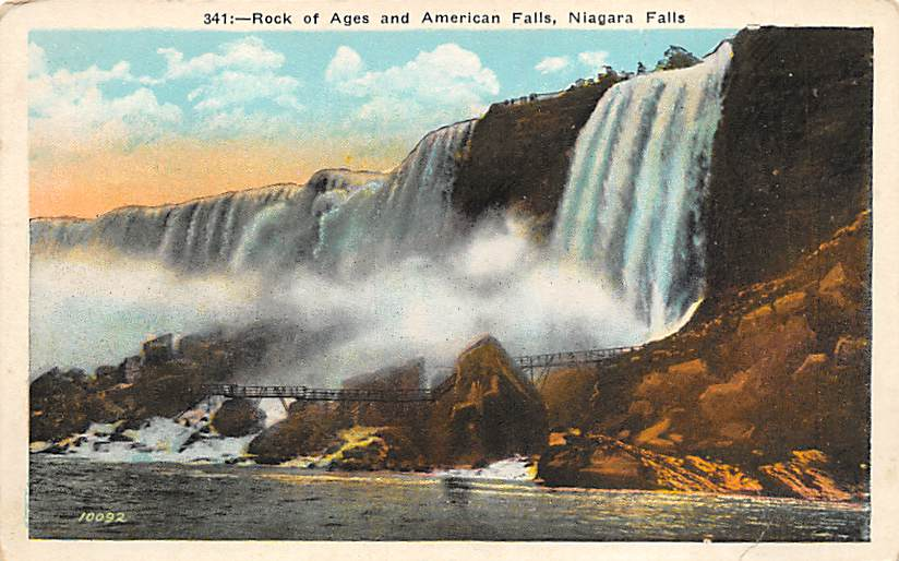 sub056173 - Niagara Falls Post Card