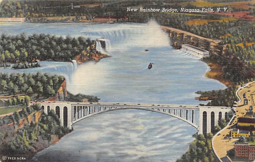 sub056187 - Niagara Falls Post Card