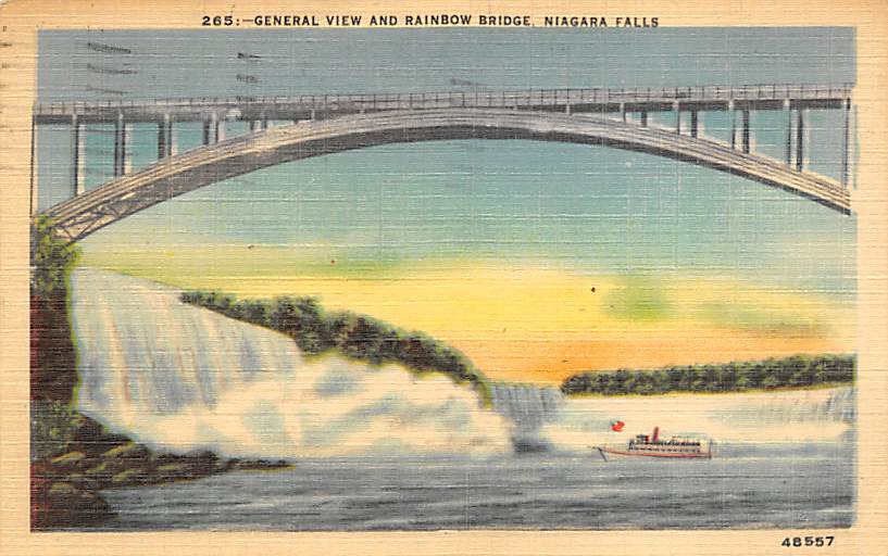 sub056189 - Niagara Falls Post Card
