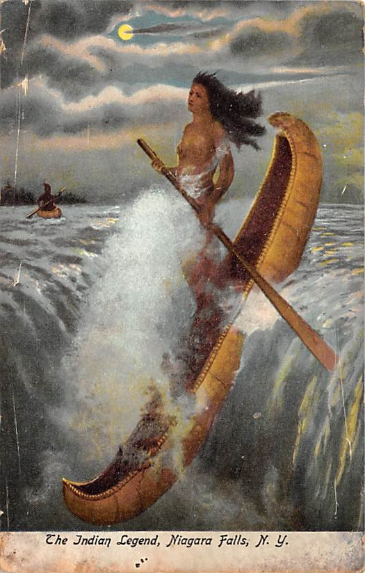 sub056209 - Niagara Falls Post Card