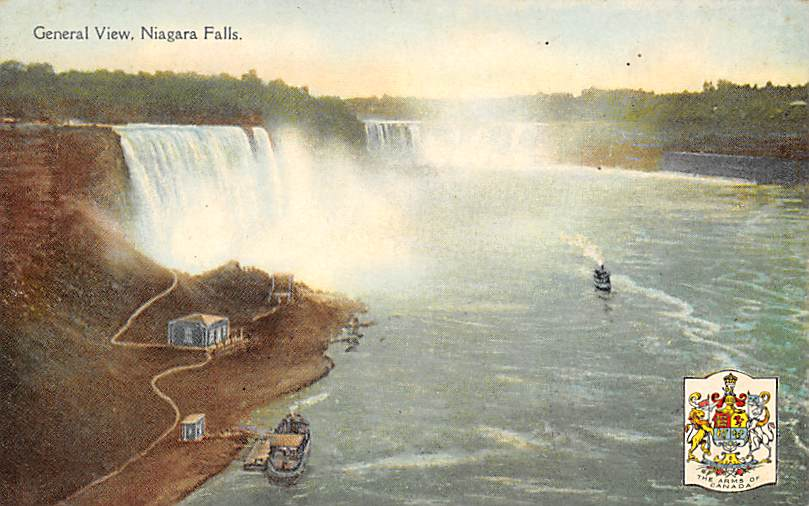 sub056211 - Niagara Falls Post Card