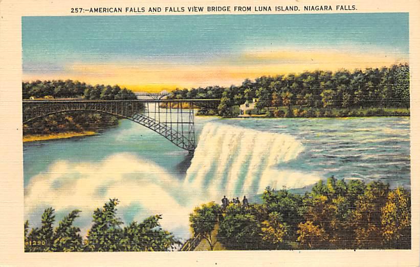 sub056215 - Niagara Falls Post Card