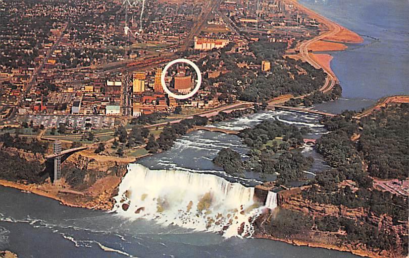 sub056217 - Niagara Falls Post Card