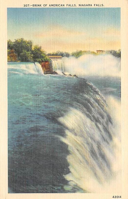 sub056219 - Niagara Falls Post Card