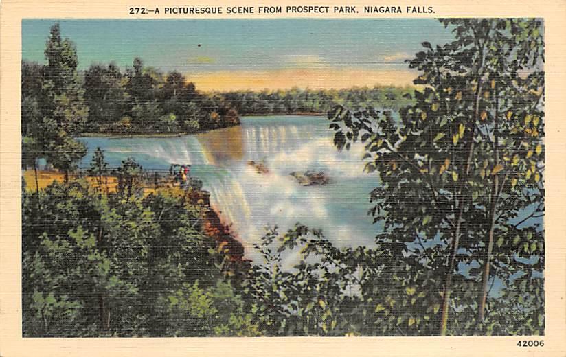 sub056221 - Niagara Falls Post Card