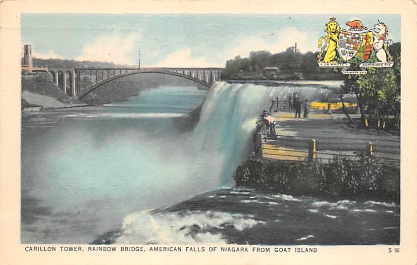 sub056233 - Niagara Falls Post Card