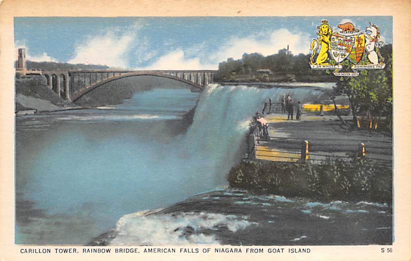 sub056239 - Niagara Falls Post Card