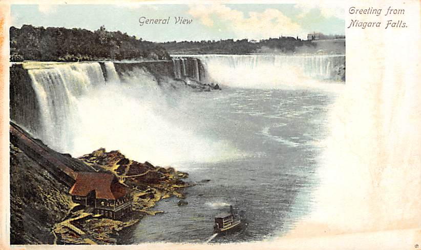 sub056257 - Niagara Falls Post Card