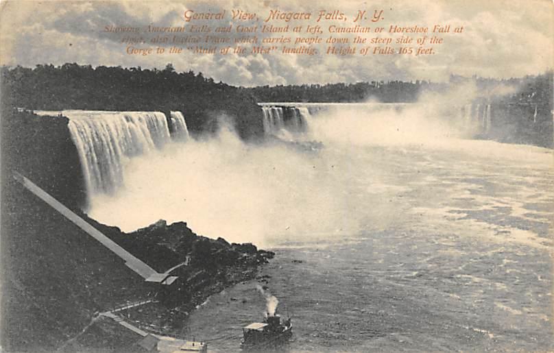 sub056281 - Niagara Falls Post Card