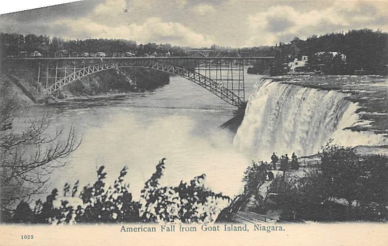 sub056309 - Niagara Falls Post Card