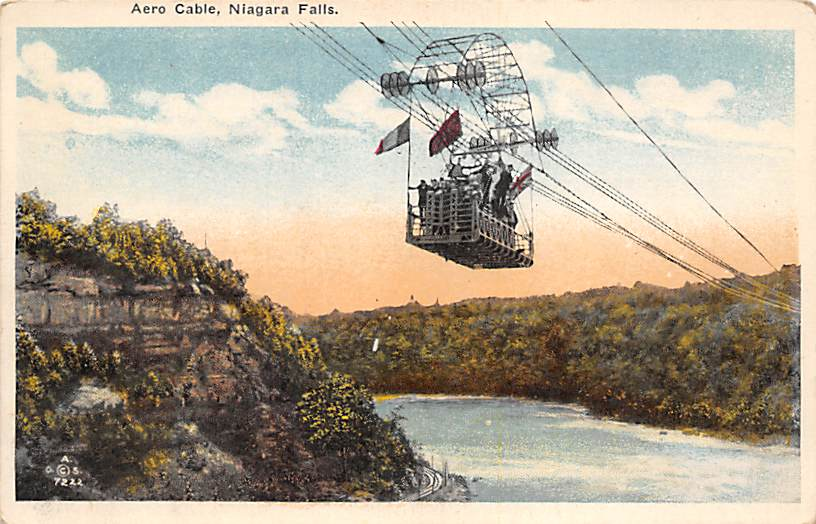sub056317 - Niagara Falls Post Card