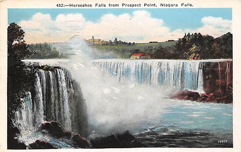 sub056319 - Niagara Falls Post Card