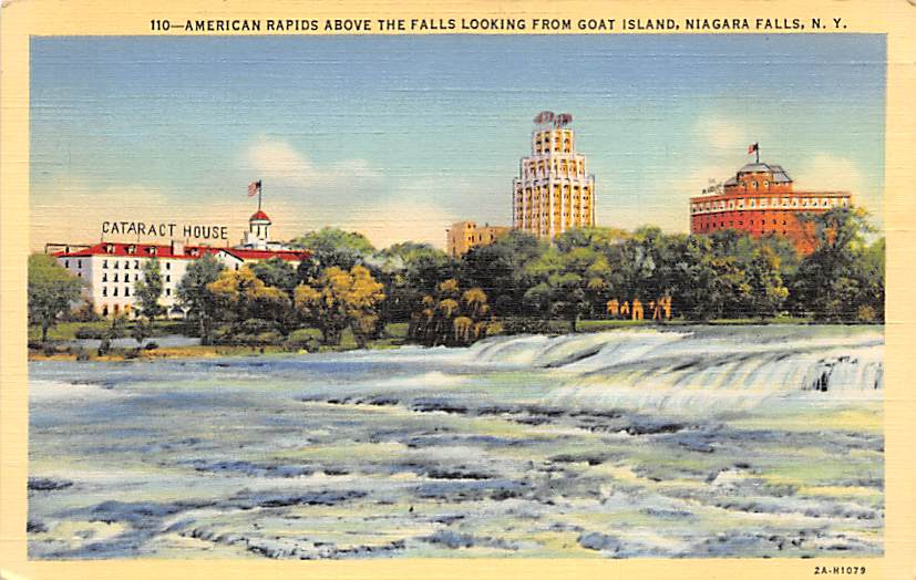 sub056327 - Niagara Falls Post Card