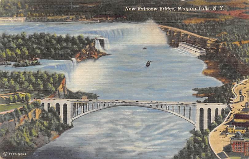 sub056331 - Niagara Falls Post Card